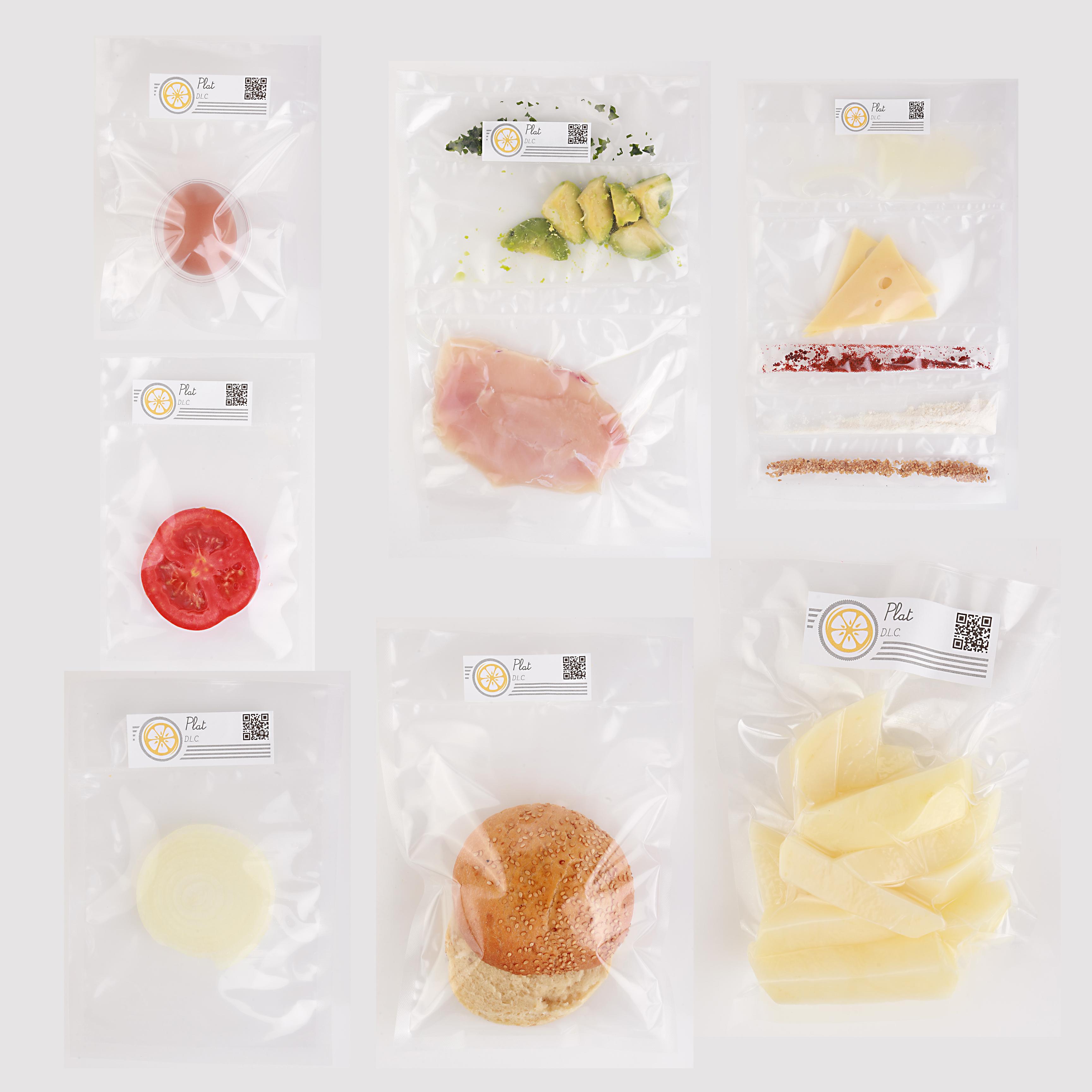 Yuzu Ingredients in Plastic Bags